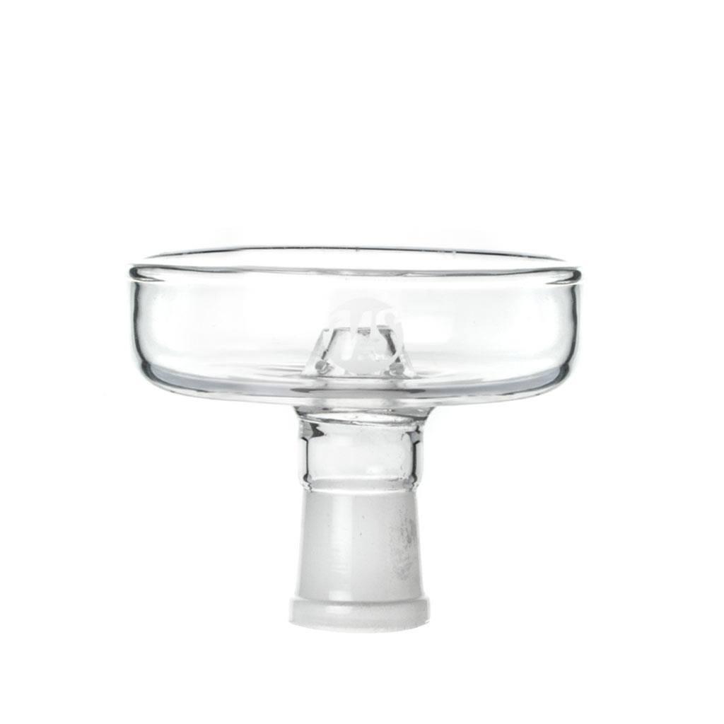 Foyer chicha en verre plat compatible avec le système de chauffe Kaloud Lotus