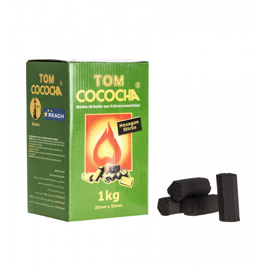 Tom cococha 1kg Hexagon sticks